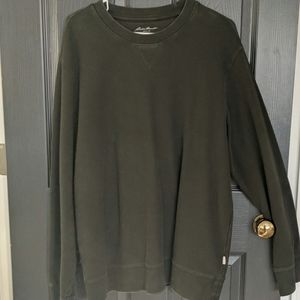 Eddie Bauer green sweater